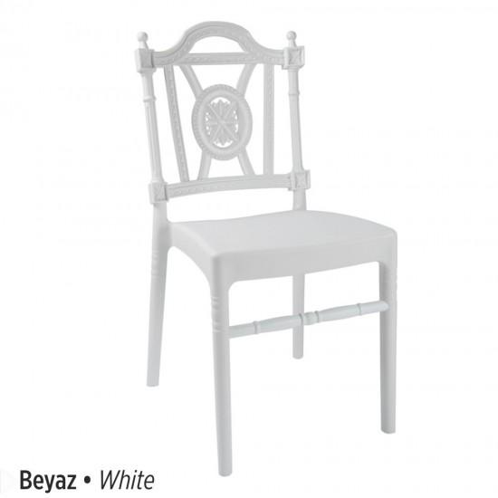 Plastik düğün sandalyesi