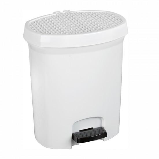 Plastik pedallı çöp kovası