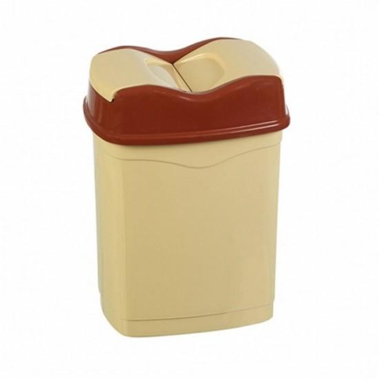 4 No Çift Kapaklı Çöp Kovası(25 Lt)