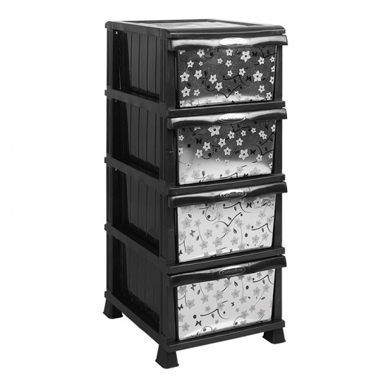 Lux Small Black Drawer